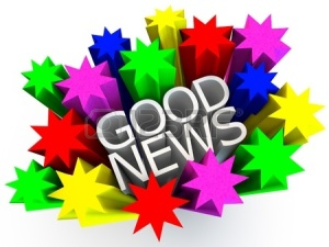 12858038-good-news,-surrounded-by-colorful-stars-over-white-background (1)