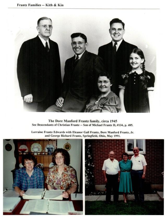 Dore M. Frantz family