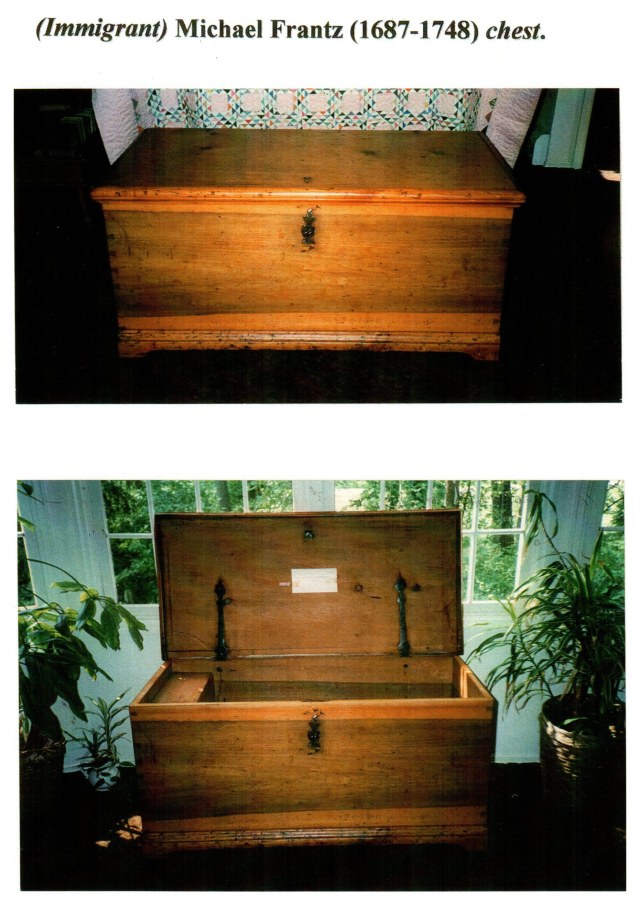 Immigrant Michael Frantz chest (front)