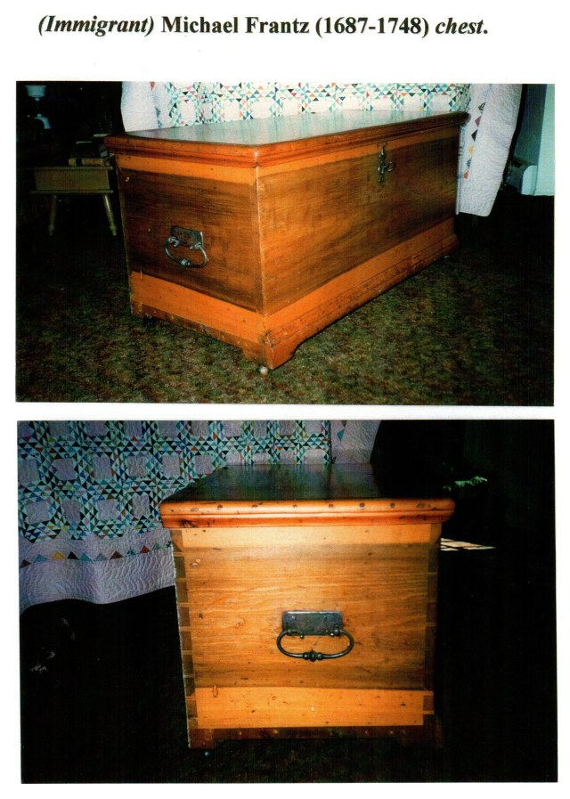Immitrant Michael Frantz chest, side and back