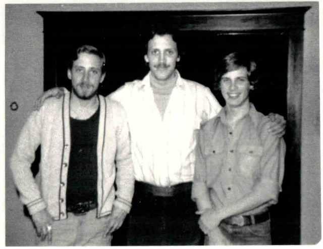 Lorraine's three sons (circa 1980)