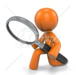 Magnifying glass with orange stick figure (1)