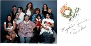 Myrtle Traxler family group 1997